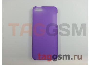 Задняя накладка Ensi для iPhone 5 0,8mm (фиолетовая)