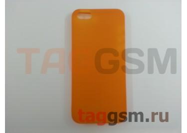 Задняя накладка Ozaki Oicoat 0.3 Jelly для iPhone5 / 5S (Orange (OC533OG))
