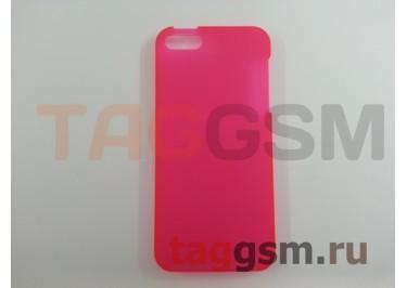 Задняя накладка Ensi для iPhone 5 0,8mm (розовая)