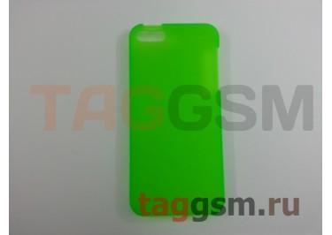 Задняя накладка Ensi для iPhone 5 0,8mm (зелёная)