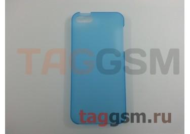 Задняя накладка Ensi для iPhone 5 0,8mm (голубая)
