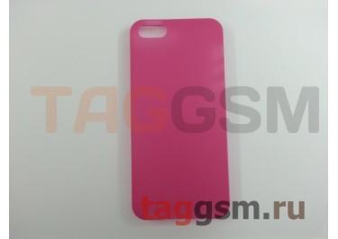 Задняя накладка Ensi для iPhone 5 0,3mm (розовая)
