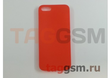 Задняя накладка Ensi для iPhone 5 0,3mm (оранжевая)