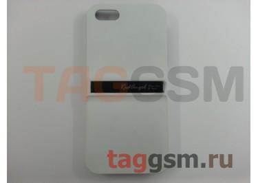 Задняя накладка - подставка Red Angel для iPhone 5 (белая)