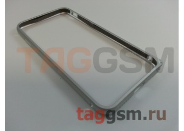 "Бампер для iPhone 7 (4.7"") (металлический, серебро)"