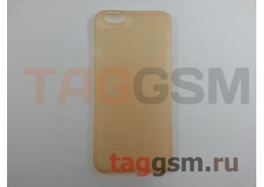 """Задняя накладка Baseus для iPhone 6 4.7"""" (золотая (Slim Case))"""