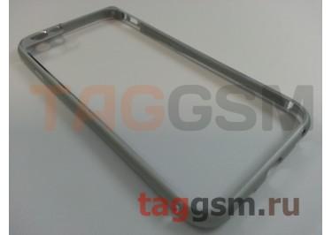 "Бампер Fashion Case для iPhone 6 (4.7"") металлический (серебро) вид 2"