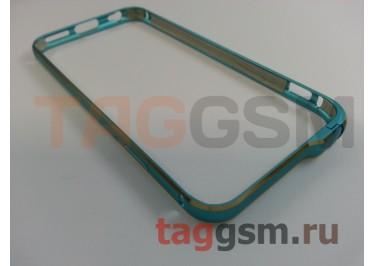 "Бампер Hoco для iPhone 6 (4,7"") металлический (Blue (Fedora Series))"