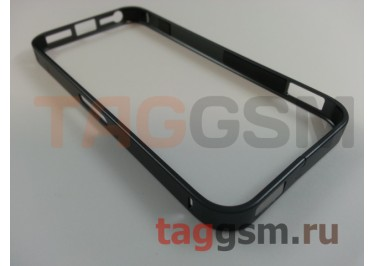 Бампер для iPhone 5 / 5S / SE (металлический, (графит) Fashion Case