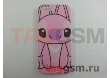 "Задняя накладка Disney для iPhone 5 (розовая""Стич"")"