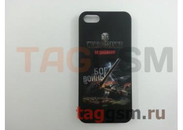 Задняя накладка Deppa для iPhone 5 / 5S (Танки Бог войны)