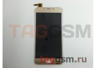 Дисплей для Meizu U10 + тачскрин (золото)