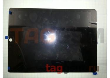 """Дисплей для iPad Pro 12.9"""" + тачскрин + шлейф в сборе (черный), ориг"""
