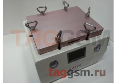 Станок для склейки дисплейного модуля AIDA A-308 (автоклав, компрессор, вакуумная камера + пресс, вакуумный насос)