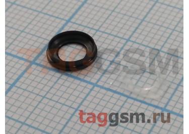 Стекло задней камеры + вспышки для iPhone 6 / 6S (серый)