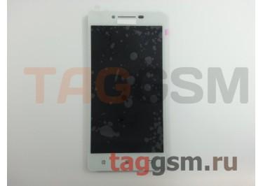 Дисплей для Lenovo A6000 + тачскрин (белый) (телефон)