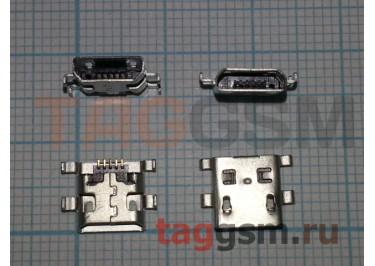 Разъем зарядки Micro USB 5pin