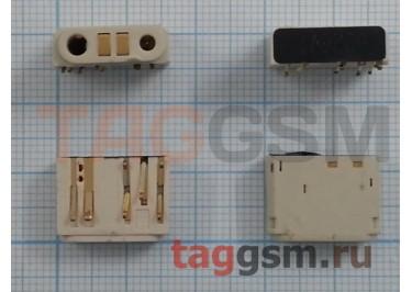 Системный разъем для Nokia 8800 Sirocco (белый)