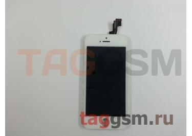 Дисплей для iPhone 5S + тачскрин белый AAA