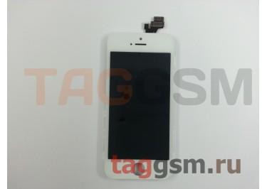 Дисплей для iPhone 5 + тачскрин белый AAA