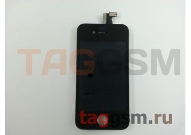 Дисплей для iPhone 4S + тачскрин черный AAA