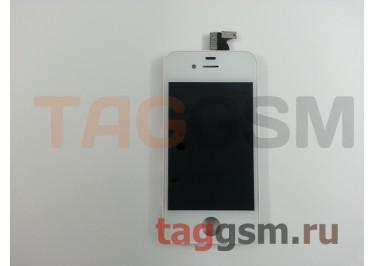 Дисплей для iPhone 4S + тачскрин белый