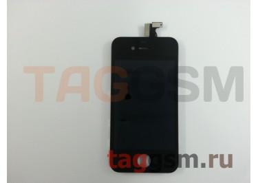 Дисплей для iPhone 4 + тачскрин черный AAA