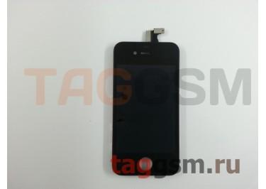 Дисплей для iPhone 4 + тачскрин черный
