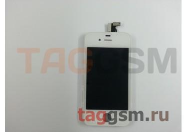 Дисплей для iPhone 4S + тачскрин белый, ориг
