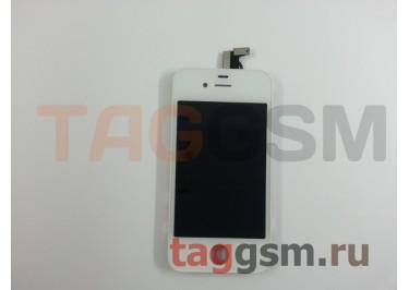 Дисплей для iPhone 4 + тачскрин белый, ориг