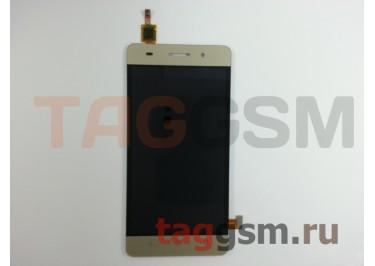 Дисплей для Huawei Honor 4C + тачскрин (золото)