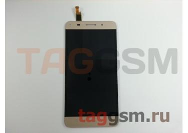 Дисплей для Huawei Honor 4x + тачскрин (золото)