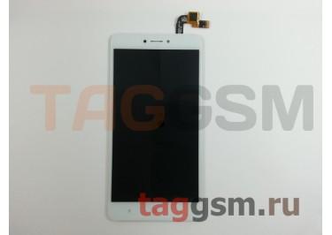 Дисплей для Xiaomi Redmi Note 4X + тачскрин (белый)