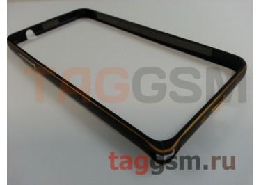 Бампер для Samsung G530 Galaxy Grand Prime (черный)