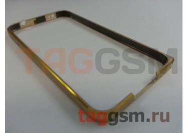Бампер для Samsung G900i9600 Galaxy S5 (золото)
