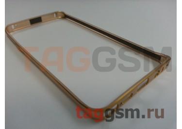 Бампер для Samsung N920 Galaxy Note 5 (золото)