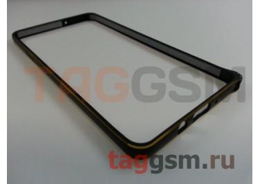 Бампер для Samsung N910C Galaxy Note 4 (черный)
