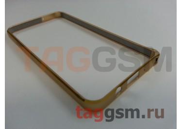Бампер для Samsung A3 / A300F Galaxy A3 (золото)