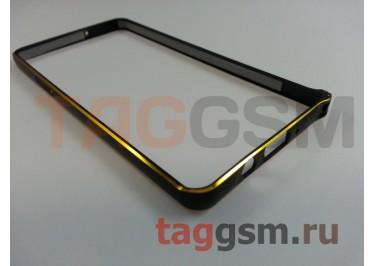 Бампер для Samsung A5 / A500F Galaxy A5 (черный)