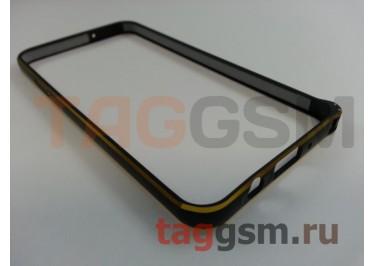 Бампер для Samsung A3 / A300F Galaxy A3 (черный)