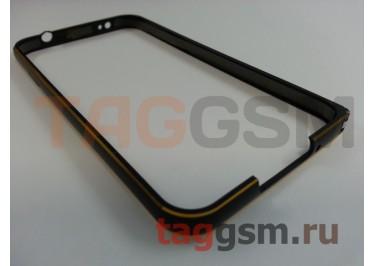 Бампер для Samsung G900i9600 Galaxy S5 (черный)