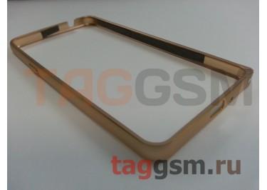 Бампер для Samsung G530 Galaxy Grand Prime (золото)