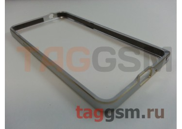 Бампер для Samsung G530 Galaxy Grand Prime (серебро)