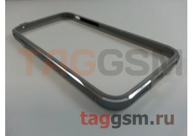 "Бампер для iPhone 7 (4.7"") (металлический, серый)"
