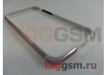 """Бампер для iPhone 7 (4.7"""") (металлический, розовое золото)"""