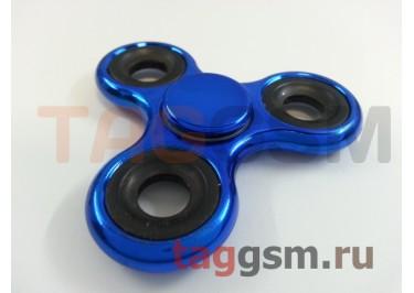 Спиннер трехлучевой (хром) (синий)