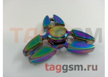 Спиннер трехлучевой (металл) (в ассортименте)