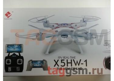 Квадрокоптер X5HW-1 (с камерой) (белый)