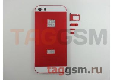 Задняя крышка для iPhone 5S (красный) AAA