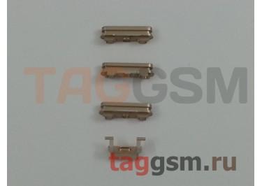 Кнопка (толкатель) для iPhone 6S Plus (mute, on / off, volume) (золото)